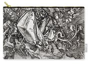 Saint Michael And The Dragon Carry-all Pouch