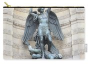 Saint Michael The Archangel In Paris Carry-all Pouch