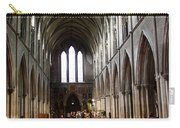Saint Patrick's Cathedral Interior Dublin Carry-all Pouch
