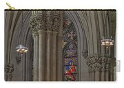 Saint Patrick's Cathedral Stained Glass Window Carry-all Pouch