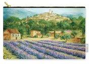 Saint Paul De Vence And Lavender Carry-all Pouch