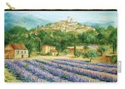 Saint Paul De Vence And Lavender Carry-all Pouch