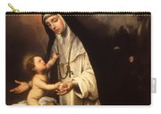 Saint Rose Of Lima Carry-all Pouch