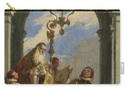 Saints Maximus And Oswald Carry-all Pouch