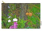 Sala Tree And Orchids At Buddhist University In Chiang Mai-thail Carry-all Pouch