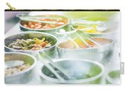 Salad Bowls With Mixed Fresh Vegetables Carry-all Pouch