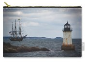 Salem's Friendship Sails Past Fort Pickering Lighthouse Carry-all Pouch