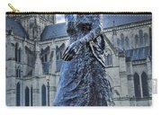 Salisbury Cathedral And The Walking Madonna 2 Carry-all Pouch
