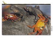 Sally Lightfoot Crabs And Marine Carry-all Pouch