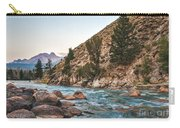 Salmon River In The Twilight Carry-all Pouch