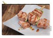 Salmon Teriyaki Skewers Carry-all Pouch