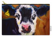 Salt And Pepper Cow 2 Carry-all Pouch