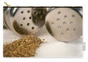 Salt And Pepper Shaker Spilled Carry-all Pouch