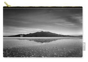 Salt Cloud Reflection Black And White Select Focus Carry-all Pouch
