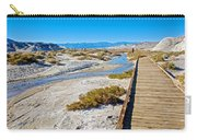 Salt Creek Trail Boardwalk In Death Valley National Park-california  Carry-all Pouch