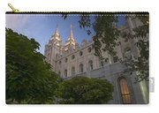 Salt Lake City Temple Carry-all Pouch