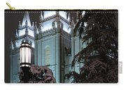 Salt Lake Temple In The Snow Carry-all Pouch