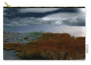 Salt Marsh At The Edge Of The Sea Carry-all Pouch by RC DeWinter