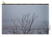 Salt Marsh Submerged In Fog Carry-all Pouch