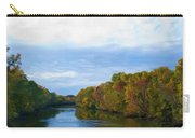 Saluda River In The Fall Carry-all Pouch