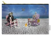 Sam And His Friend Visit Long Boat Key Carry-all Pouch