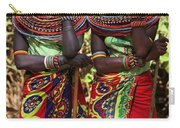 Samburu Women Dancing Kenya Carry-all Pouch