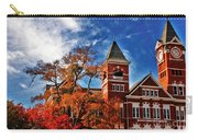 Samford Hall In The Fall Carry-all Pouch by Victoria Lawrence