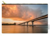 Samoa Bridge At Sunset Carry-all Pouch