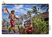 Samoan Torch Bearer Carry-all Pouch by David Smith