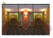 Sample Paneled Hallway Mirrored Image Carry-all Pouch