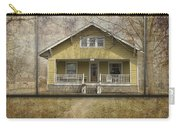 Sample Paneled Yellow Bungalow Carry-all Pouch