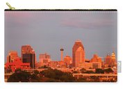 San Antonio - Skyline At Last Light Carry-all Pouch