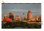 San Antonio - Skyline At Sunset Carry-all Pouch