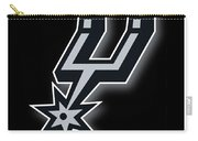 San Antonio Spurs Carry-all Pouch by Tony Rubino