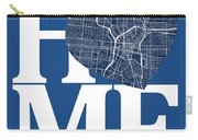 San Antonio Street Map Home Heart - San Antonio Texas Road Map I Carry-all Pouch
