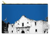 San Antonio The Alamo - Royal Blue Carry-all Pouch