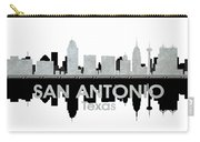San Antonio Tx 4 Carry-all Pouch