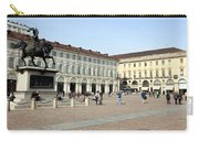 San Carlo Square In Turin Carry-all Pouch