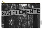 San Clemente Station Sign Carry-all Pouch