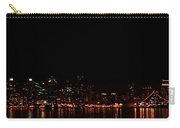 San Diego Night Skyline Carry-all Pouch
