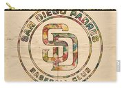 San Diego Padres Logo Art Carry-all Pouch