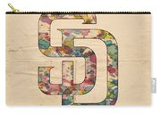 San Diego Padres Logo Vintage Carry-all Pouch