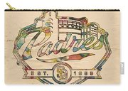 San Diego Padres Memorabilia Carry-all Pouch