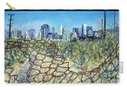 San Francisco And Flowery Vagabond Path Of Yesterday Carry-all Pouch