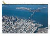 San Francisco Bay Bridge Aerial Photograph Carry-all Pouch