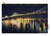San Francisco Bay Bridge Illuminated Carry-all Pouch