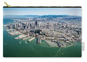 San Francisco Bay Piers Aloft Carry-all Pouch