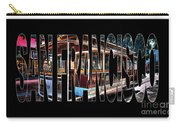 San Francisco Cable Car Art Carry-all Pouch