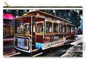 San Francisco Cable Car Painting Carry-all Pouch