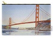 San Francisco California Golden Gate Bridge Carry-all Pouch